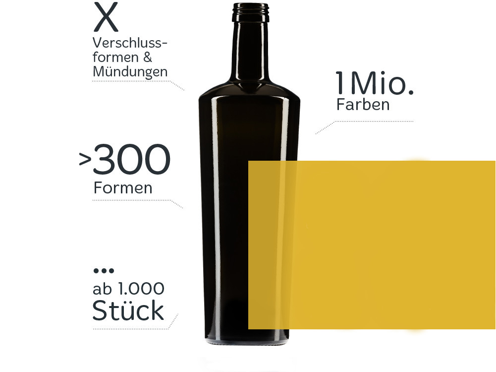 unico individuelle flaschen und glasverpackungencristallo. Black Bedroom Furniture Sets. Home Design Ideas