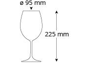Rotweinglas_Cristallo_Mio_Bordeaux_Masse