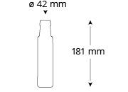 Cristallo-fandler-oelflasche-masse