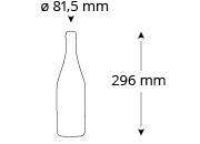 Cristallo-kollwentz-burgunderflasche-masse