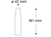 Cristallo-sidi-yassine-oelflasche-masse