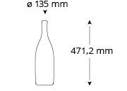 Cristallo-schlumberger-champagnerflasche-masse
