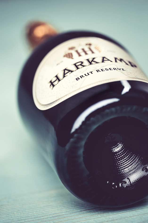 harkamp-sektflasche-boden, Sektflasche, Harkamp
