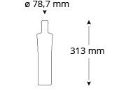 cristallo-platzhirsch-vienna-vodkaflasche, Referenz Cristallo, Platzhirsch
