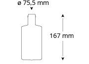 cristallo-wiesmeier-ginflasche, Referenz Cristallo, Ginflasche, Wiesmeier