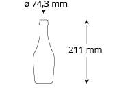 cristallo-zwettler-bierflasche, Referenz, Bierflasche, Zwettler