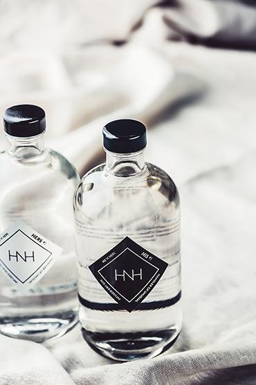 cristallo-van-der-berg-ginflasche, Referenz Cristallo, HIS GIN