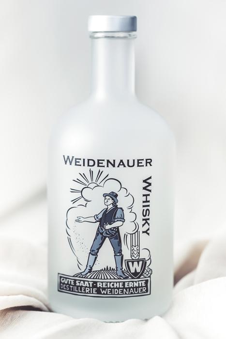 Weidenauer-Whisky-Whiskyflasche