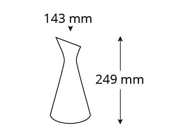Abmessungen-SCH100W-schraeghalskaraffe-mit-praegung-steirisches-wasser